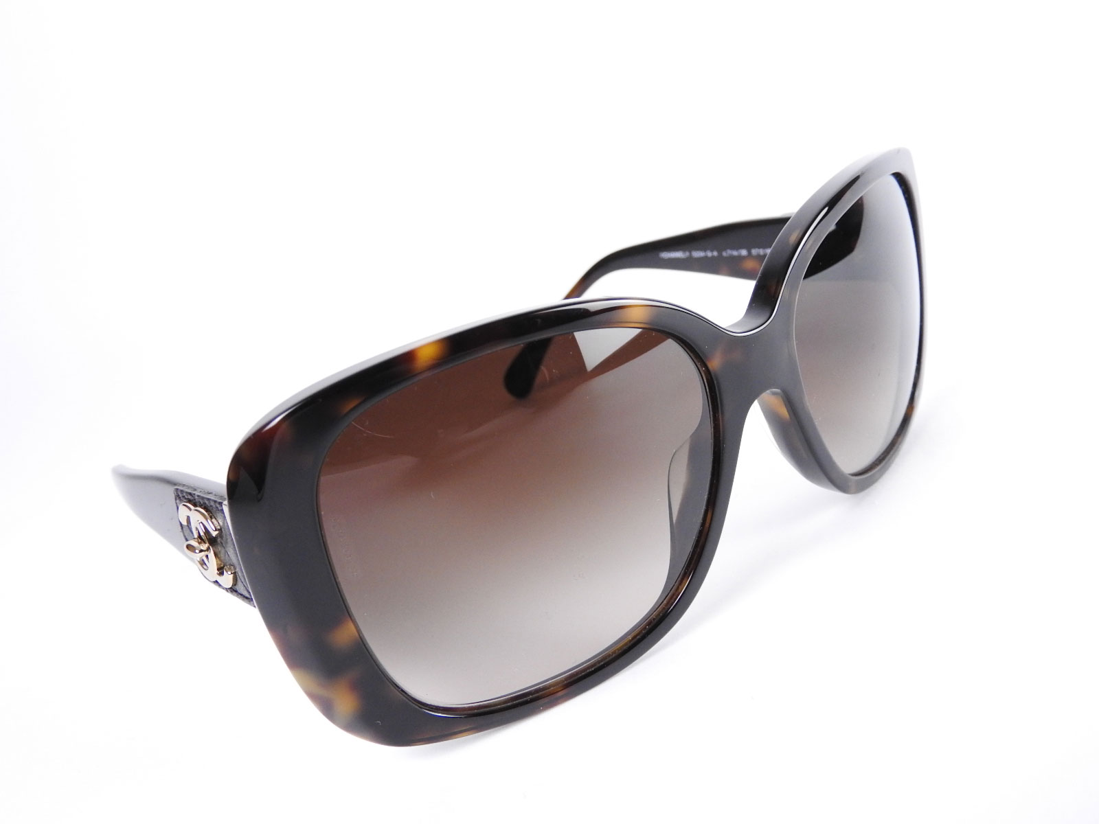 Chanel Glasses Frame Malaysia : CHANEL CC Logo Motif Plastic Sun Glasses Brown Lens Frame ...