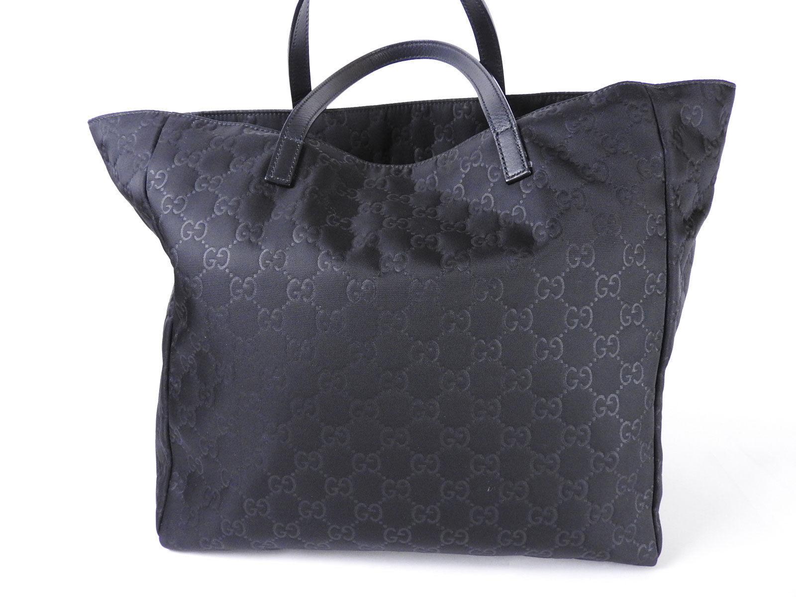 2b154293709 Authentic Gucci Guccissima Gg Nylon Shoulder Tote Bag. Gucci Women s Leather  Micro ...