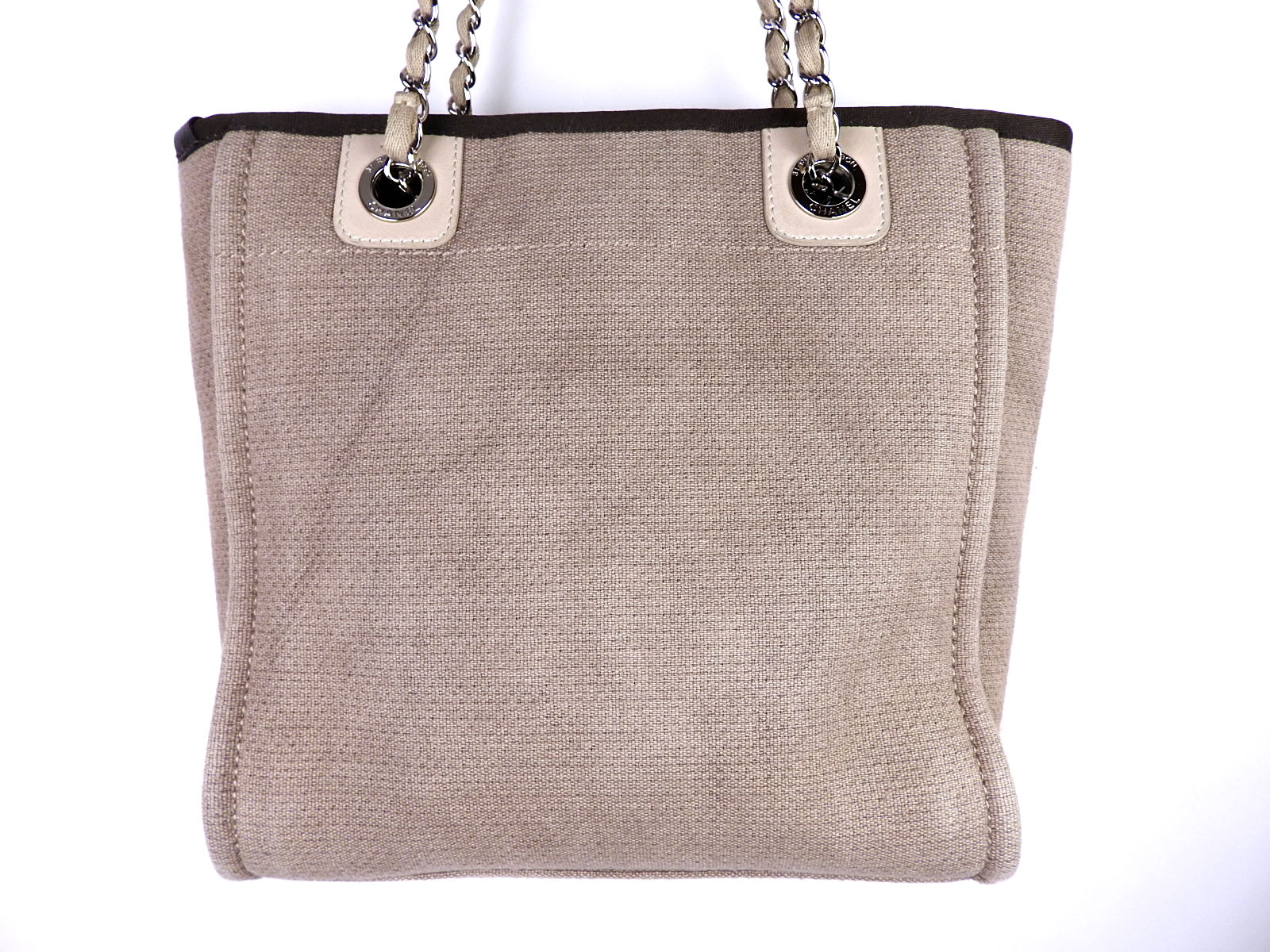 26cd926a7db0 Chanel Deauville Chain Shoulder Tote Bags | Stanford Center for ...