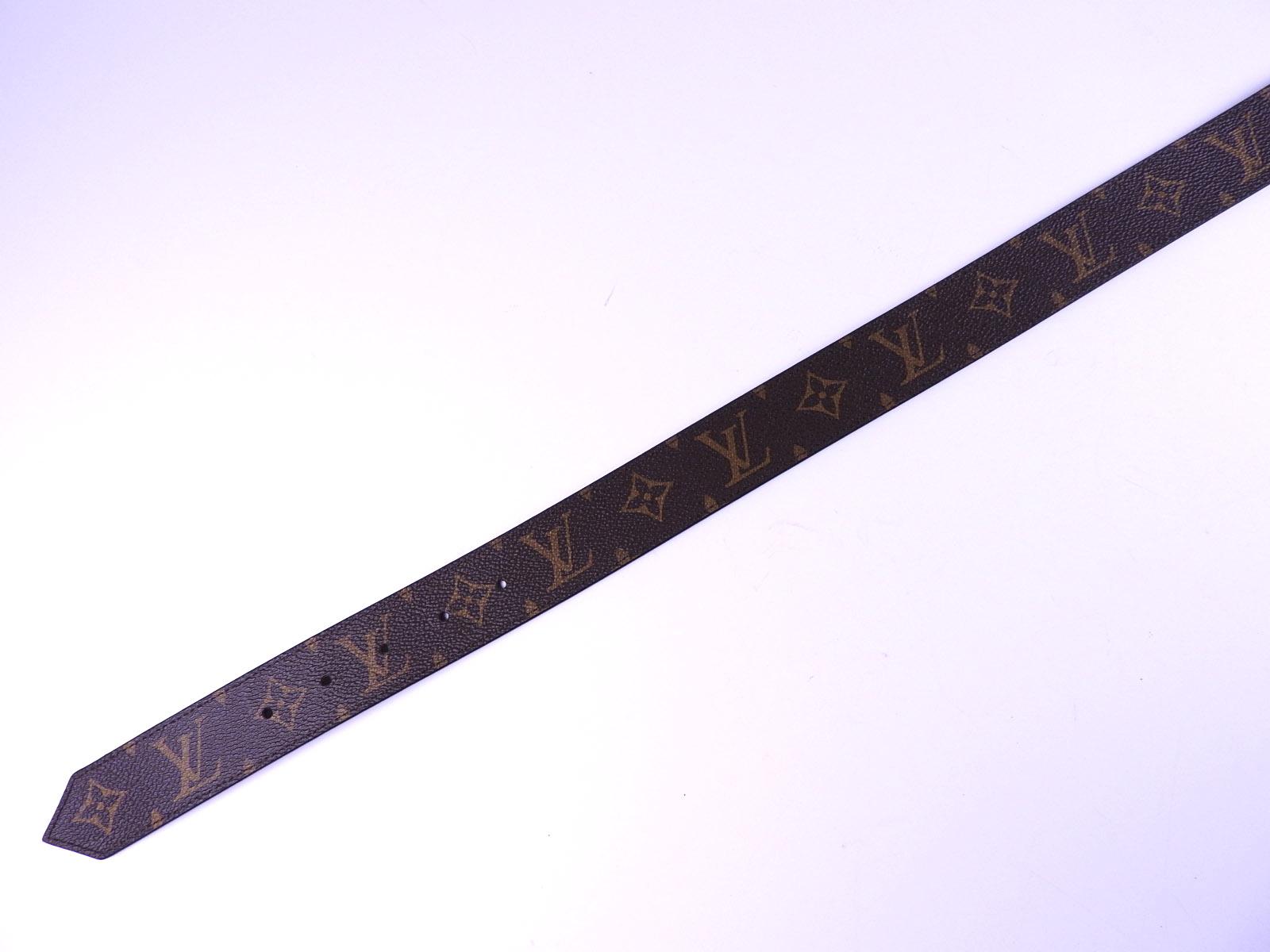 d72a75001c44 Louis Vuitton ceinture LV Monogram Círculo Cinturón 35MM 90 36 Epi ...