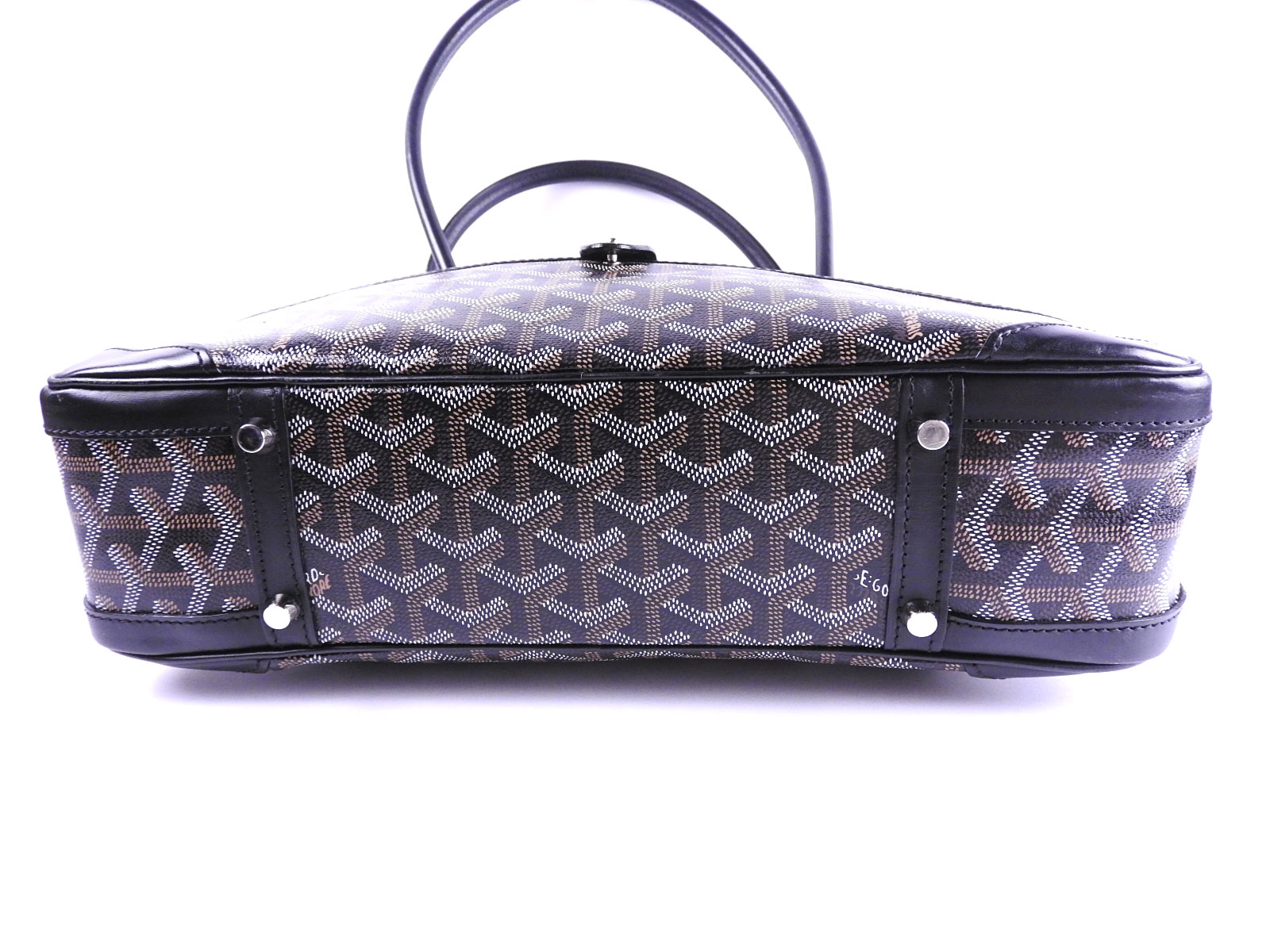 c35339e95f GOYARD Saint Martin Mini Boston Bag Shoulder Hand Bag PVC Leather ...