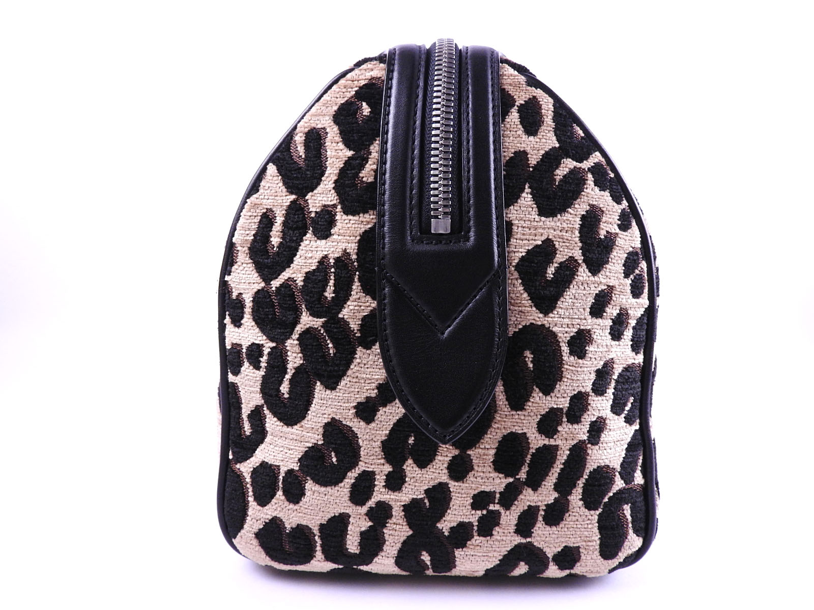 2e82a381b79e LOUIS VUITTON Stephen Sprouse Leopard Speedy PM Hand Bag Beige Black ...